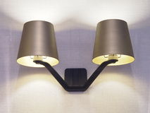 Wall lamp Stock Image