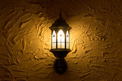 Wall lamps. Royalty Free Stock Photography