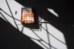 Wall lantern Royalty Free Stock Photos