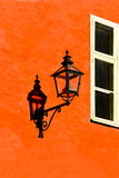 Wall lantern Royalty Free Stock Photo