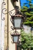 Wall lanterns. Royalty Free Stock Photos