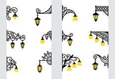 Wall lanterns Royalty Free Stock Image