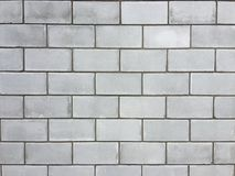 Wall from a large cinder block royalty free stock image