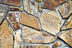 wall of large stones Royalty Free Stock Photo