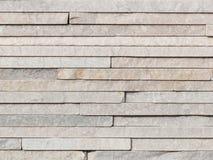Wall light gray natural stone Stock Photos