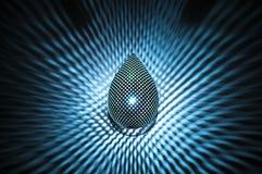 Wall light with illuminated light Stock Photography