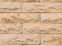 Wall of light stone Royalty Free Stock Photos