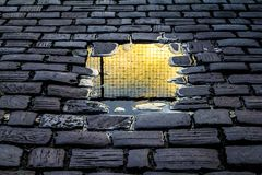 Wall, Light, Stone Wall, Sunlight Royalty Free Stock Images