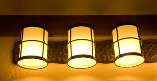 Wall Lights Stock Photo