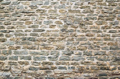 Wall from limestone Royalty Free Stock Photography