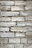 Wall from limestone Stock Image
