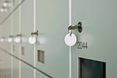Wall of lockers Royalty Free Stock Image