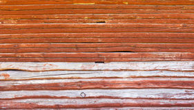 Wall of an log cabin Stock Photos