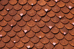 Wall of love. In Ishiya Chocolate Factory,Hokkaido Stock Image