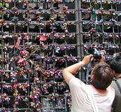 Wall of love in Verona Royalty Free Stock Image