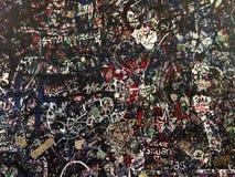 Wall of love in Verona Royalty Free Stock Photos
