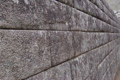 Wall of Machu Picchu Stock Photography