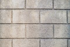 Wall made of big bricks Stock Photography
