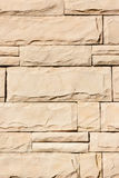 Wall made with blocks. background Royalty Free Stock Photos
