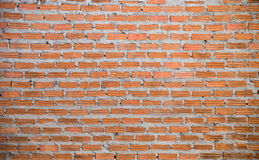 Wall made from Brick. Show Pattern that Arrange High and Wide stock photography
