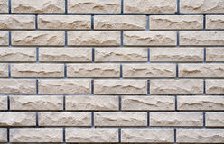 A wall made from  bricks Royalty Free Stock Images
