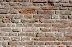 Wall made of bricks. Bricked background Stock Images