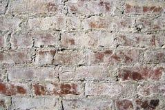 Wall made of bricks. Stock Images