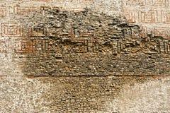 Wall made of bricks Stock Images