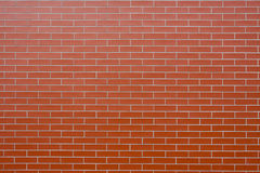Wall made of bricks as background Royalty Free Stock Photos