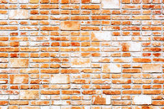 Wall made of bricks. Stock Photos
