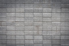 Wall made of bricks. Gray wall made of bricks Stock Photography