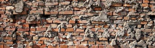 Wall made of bricks Royalty Free Stock Photos