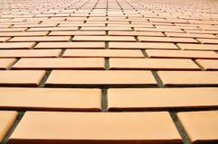 A wall made of bricks Royalty Free Stock Photo