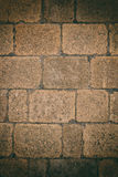 Wall made of bricks Royalty Free Stock Images