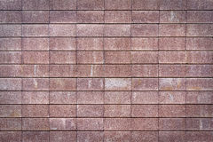 Wall made of bricks Royalty Free Stock Photo