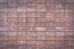 Wall made of bricks. Red wall made of bricks Royalty Free Stock Photo