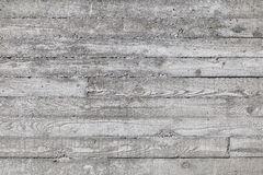 Wall made of concrete with wood texture. Stock Photo