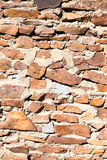Wall made of granite stones as background Stock Photos
