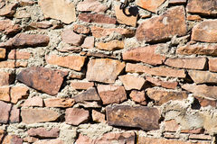 Wall made of granite stones as background Stock Image