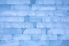 Ice blocks, can be used as background Royalty Free Stock Photography