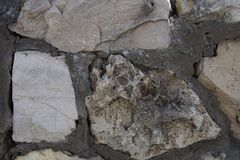 Stone wall close up royalty free stock photos