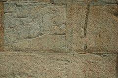 Wall made of large stone bricks royalty free stock image