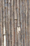 Wall made of logs. Wood texture Stock Photos