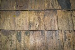 Wall made from Plank woods, used as Background and Texture. stock image