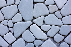 Wall made from Polished Stone. Show Pattern that Arrange High and Wide Royalty Free Stock Image
