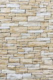 Wall made from sandstone bricks royalty free stock photography