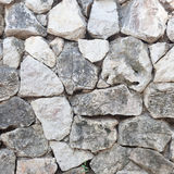Wall made of stone Royalty Free Stock Images