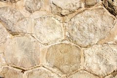Wall made ​​of stones Royalty Free Stock Photos