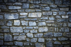 Wall made of stones Royalty Free Stock Images
