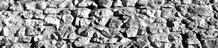Wall made by stones Royalty Free Stock Photo